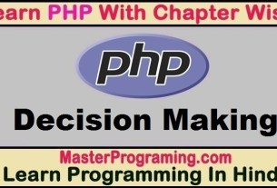 PHP Decision Making