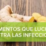 Alimentos que luchan contra las infecciones