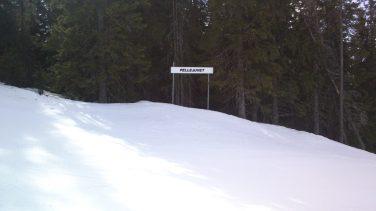 20130403 Hafjell trase Pellejuvet