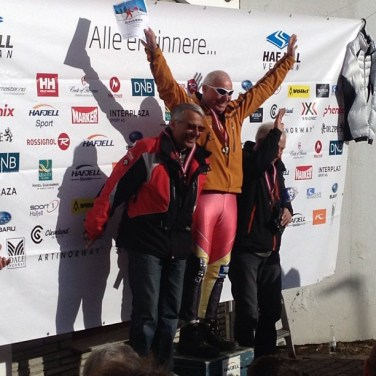 Evigunge Kjell Aurmo vant SSL i sin klasse VeteranNM 2013