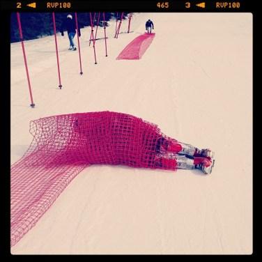 Gått i baret! snow net competition sun action VeteranNM 2013