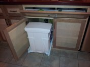 TIp Out Tray and Pullout Bin