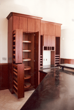 custom Mahogany Kitchen
