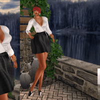 @1622~The Surreal Lyfe feat…HOI: Emma Dress BW