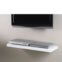 Floating Media Shelf