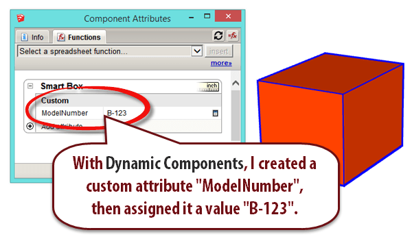 Pulling data into LayOut from your SketchUp model using Dynamic ...