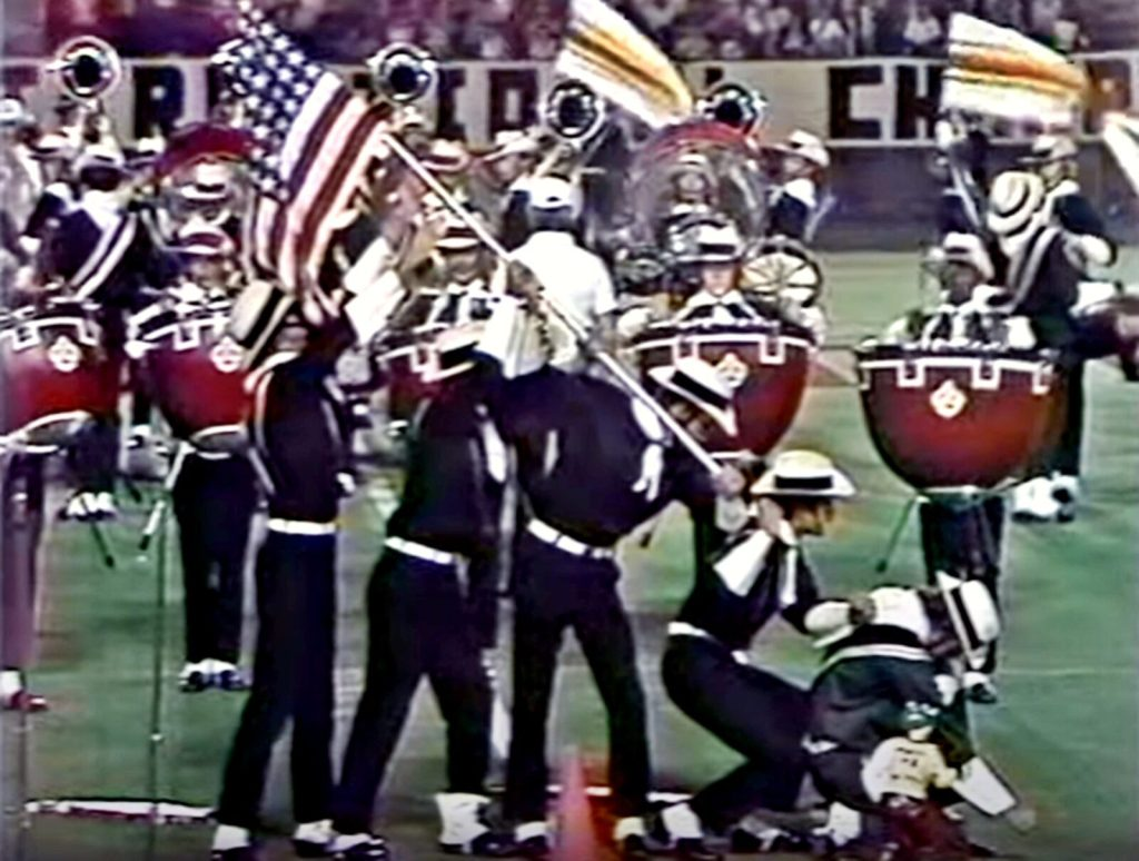 Madison Scouts Drum and Bugle Corps 1976