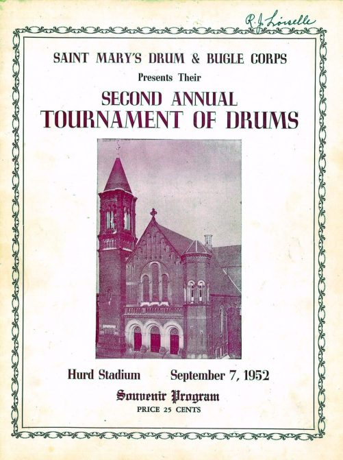 Tournament of Drums Poster 1952