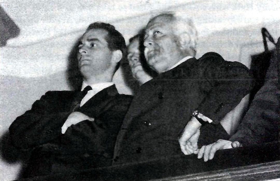 Al Saia and Aruhur Fiedler at Symphony Hall