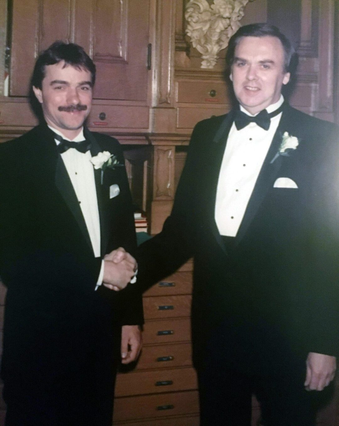 Larry Creilson and Rick Connor