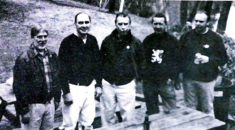 Paul Bush, Bob Devlin, Gerry Shellmer, Mike Cahill, Rick Connor