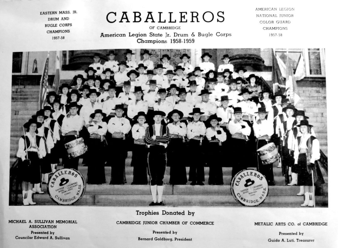 Cambridge Caballeros photo from a competition program