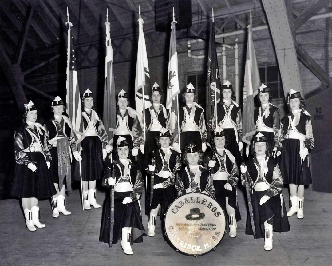 Cambridge Caballeros Color Guard