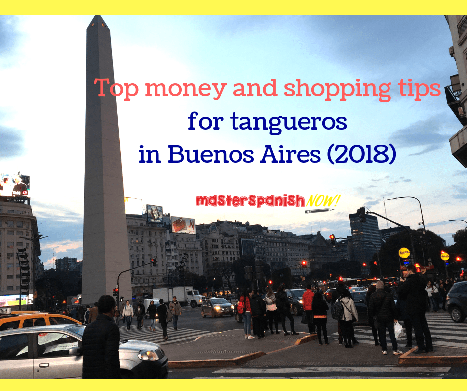 Money shopping Buenos Aires