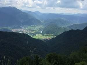 The mountains above Kobarid, Slovenia