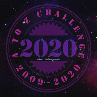 Blogging A-Z 2020 Badge