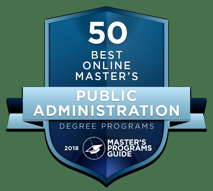 Best Online Master Of Public Administration  Master's