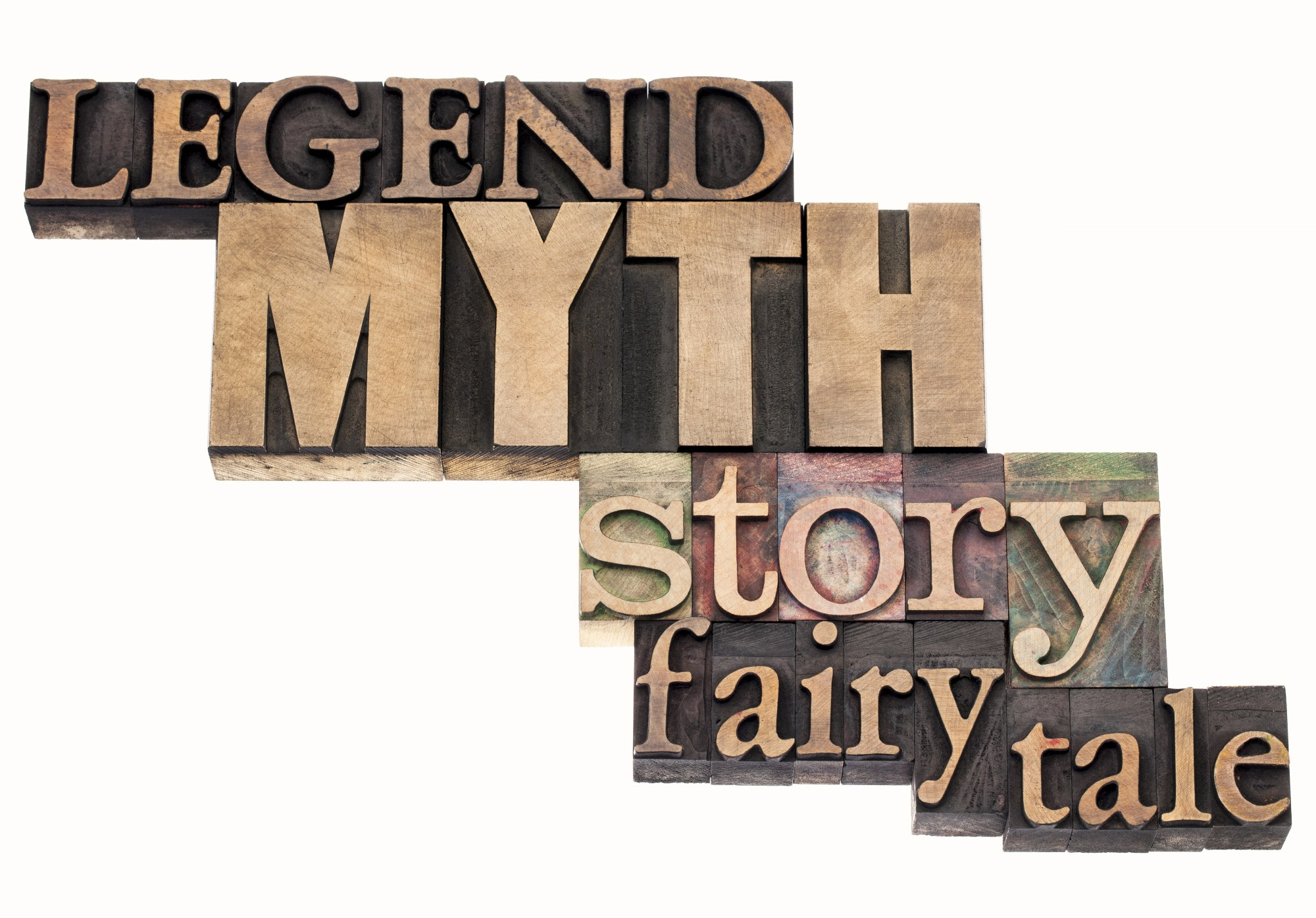 hight resolution of legend myth story tale