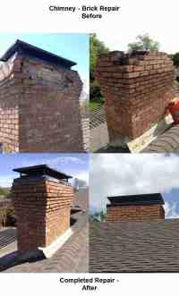 Chimney Brick Repair - MastersServices