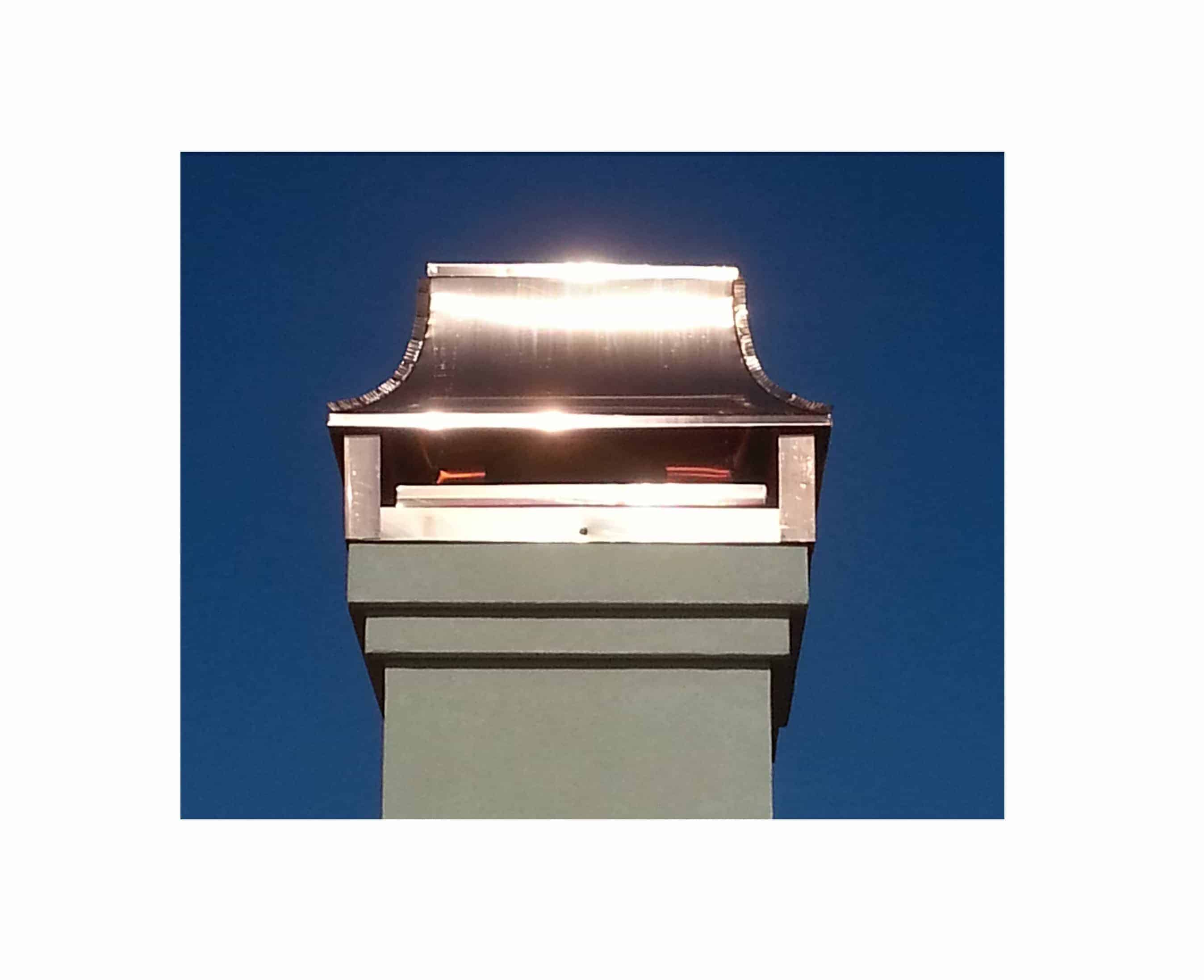 Improve the look of your chimney with copper chimney caps