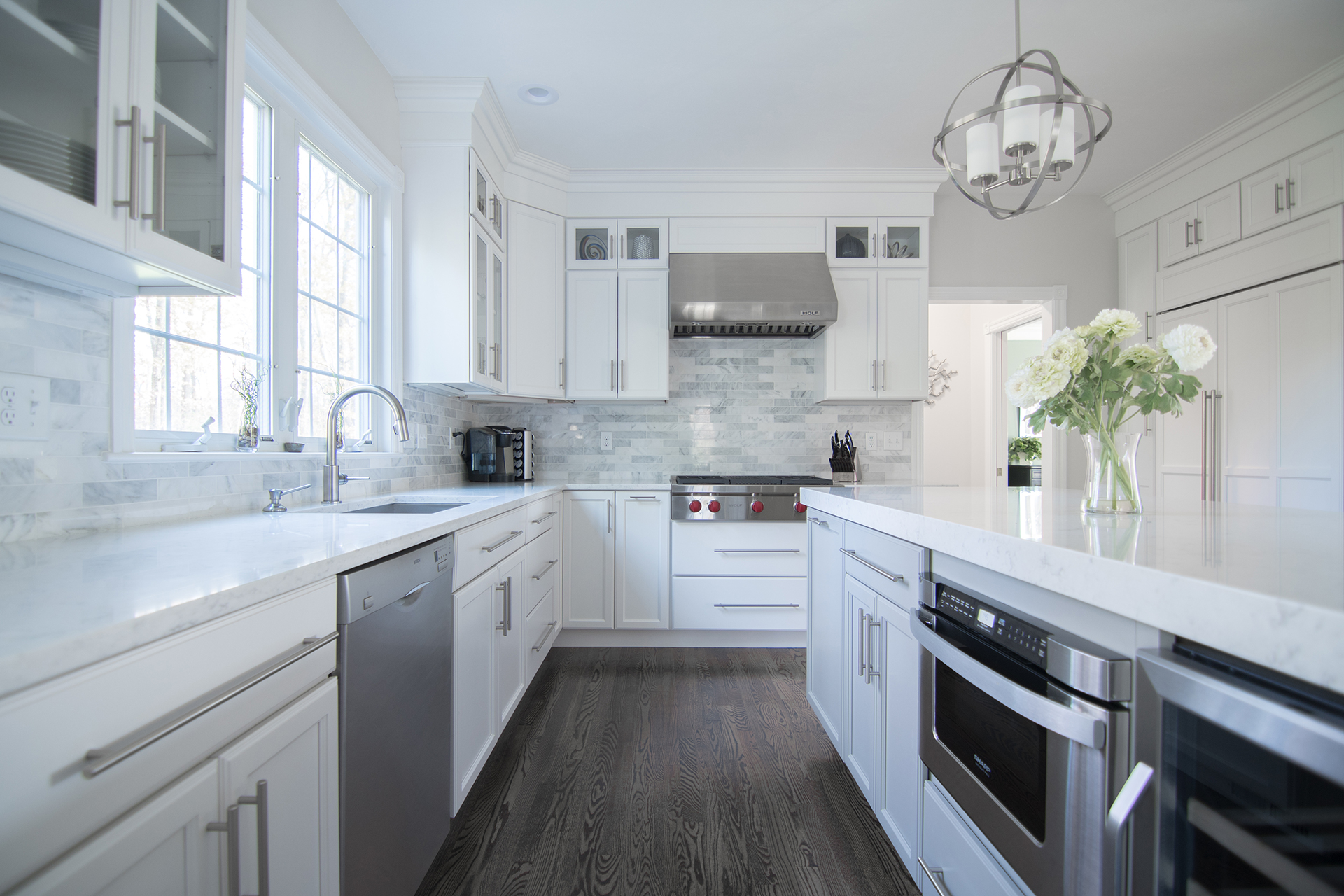 custom kitchens and remodeling – masters touch design build