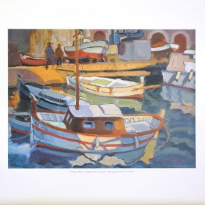 CHARLES PARDELL - HARBOUR (LITHOGRAPH)