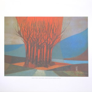MARLEZ - FOREST (LITHOGRAPH)