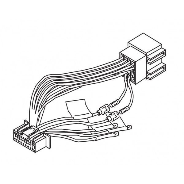 Kenwood DNX-3160BT DNX3160BT DNX 3160BT Power Loom Wiring