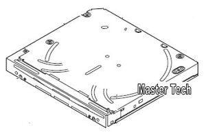 Kenwood DNX-7200 DNX7200 DNX 7200 DVD Mechanism