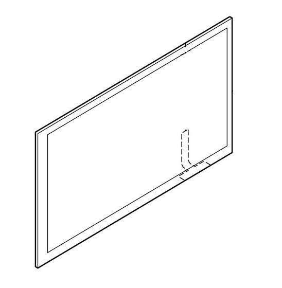 Pioneer AVH-180DVD AVH180DVD AVH 180DVD Touch Screen Panel