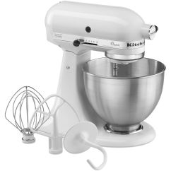 Kitchen Aide Stand Mixer High Table Sets Kitchenaid 4 5 Quart Classic Series Master