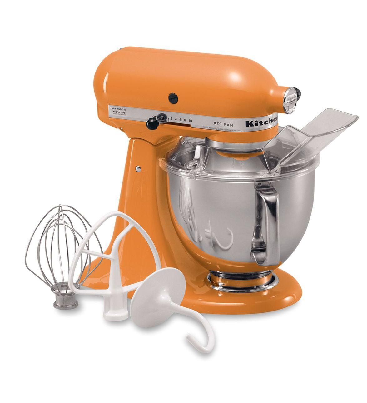 kitchen aid standing mixer chair leg floor protectors kitchenaid tangerine 5 quart artisan series stand
