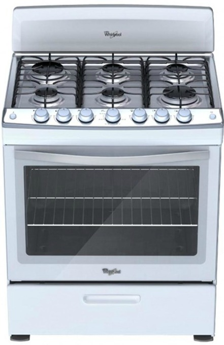 kitchen aid toasters television whirlpool gas range- white 6 burners - master technicians ltd.