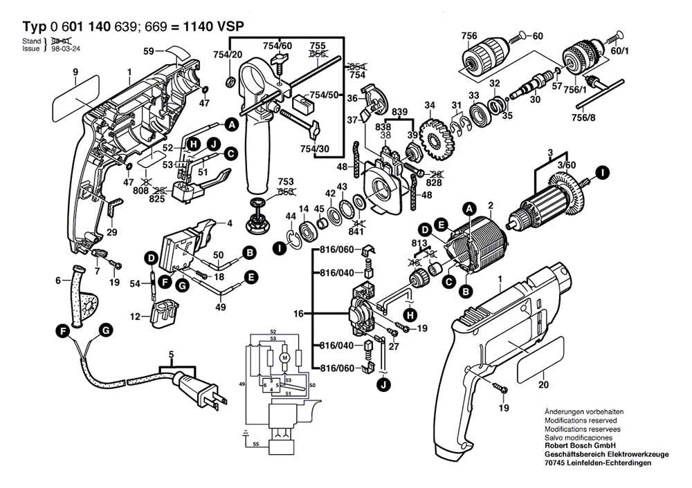 Bosch Hammer Drill Wiring Diagram : 33 Wiring Diagram
