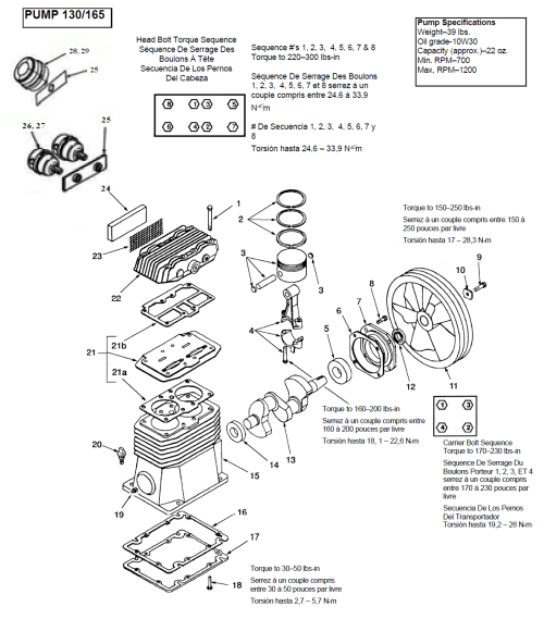 small resolution of pump assy parts