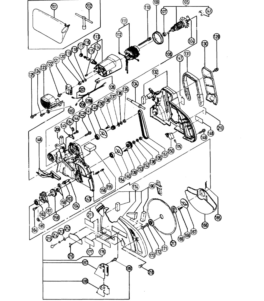 medium resolution of hitachi sliding compound miter saw parts c10fs craftsman chainsaw parts diagram 358 351081 hitachi miter saw
