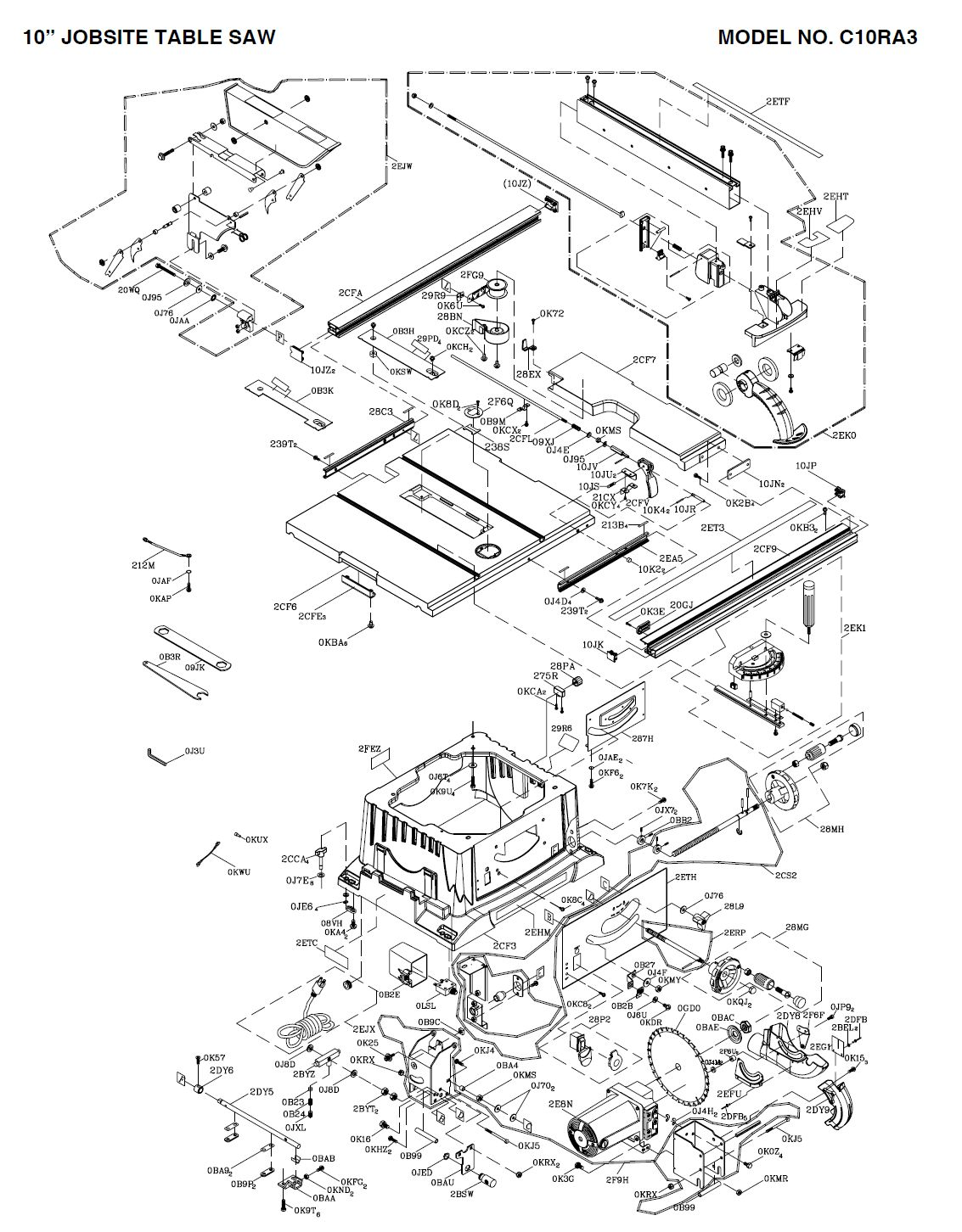 Hitachi Table Saw Wiring Diagram Low Voltage Lighting Wire