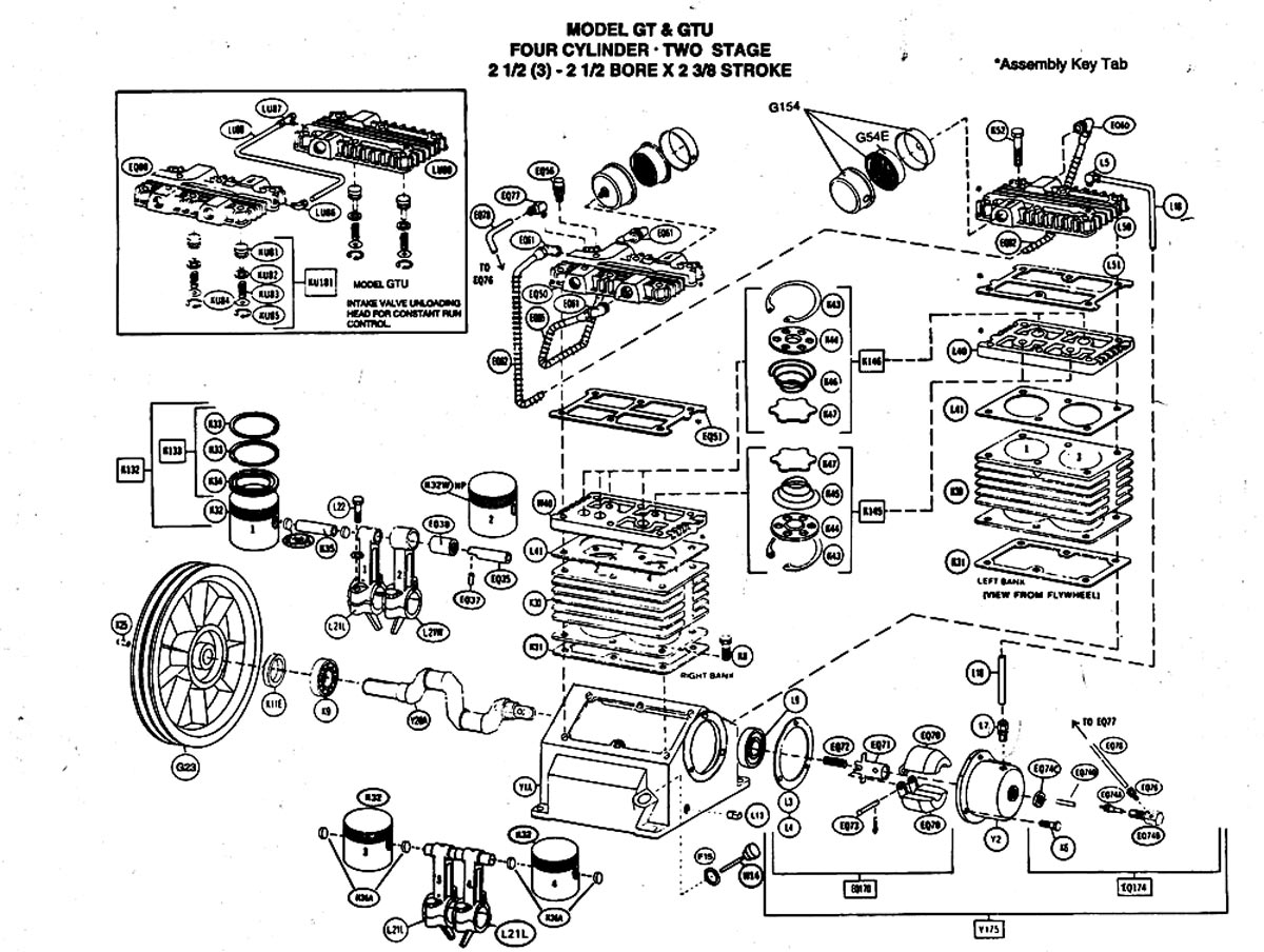 Champion Air Compressor Wiring Diagram Gas Air Compressor