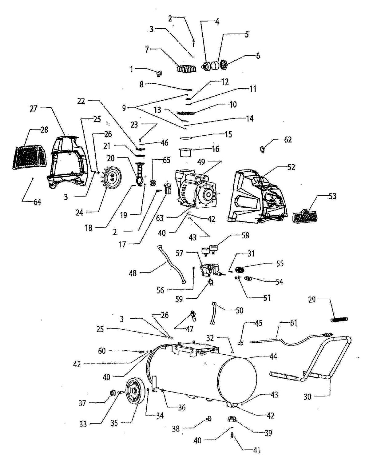 hight resolution of f217hkl 236005 air compressor parts schematic