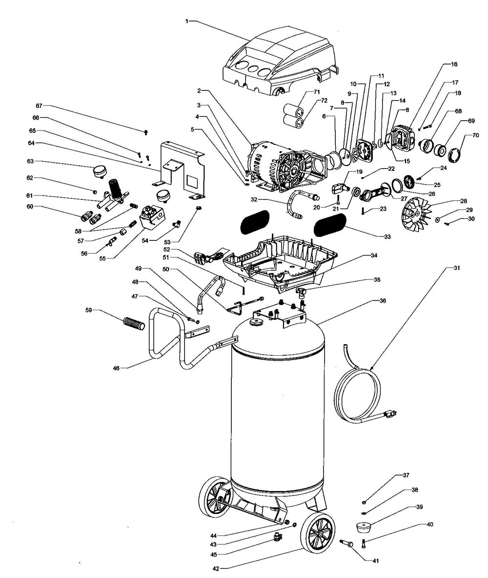 Husky Air Compressor Motor Wiring Diagram