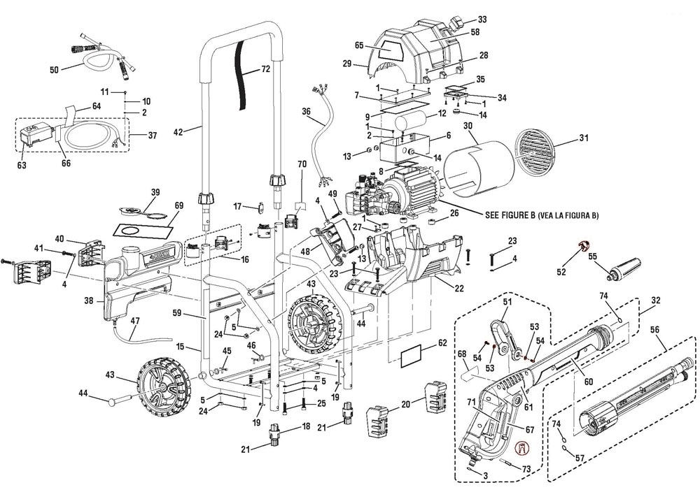 Wiring Diagram For Husky Pressure Washer Hu80220 Wiring