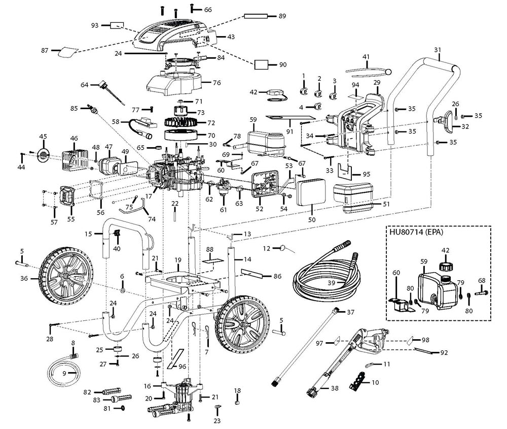 Husky Pressure Washer Pump Diagram : 34 Wiring Diagram