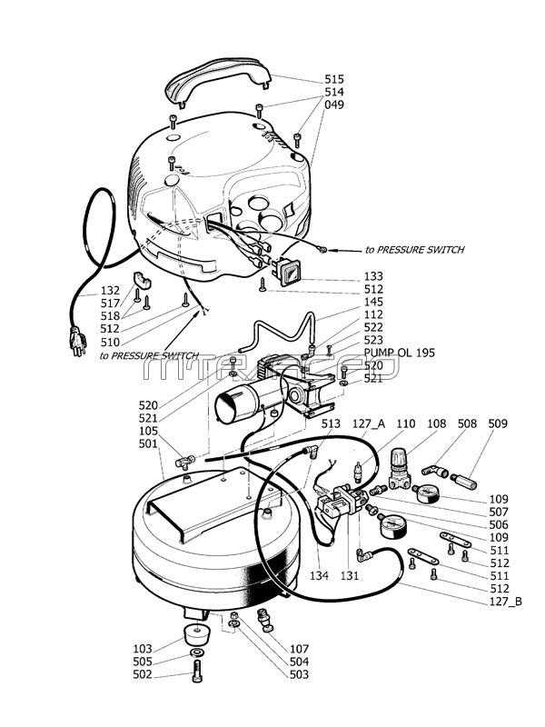 Husky Air Compressor Regulator Wiring Diagram