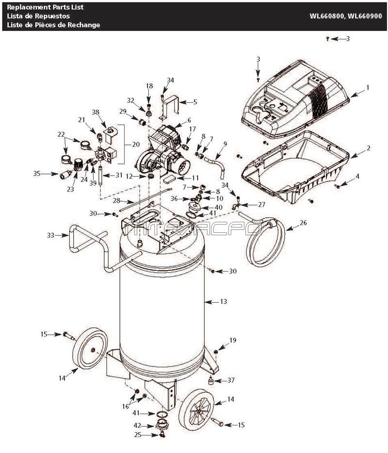 Sanborn Air Compressor Centrifugal Switch With Wiring Diagram