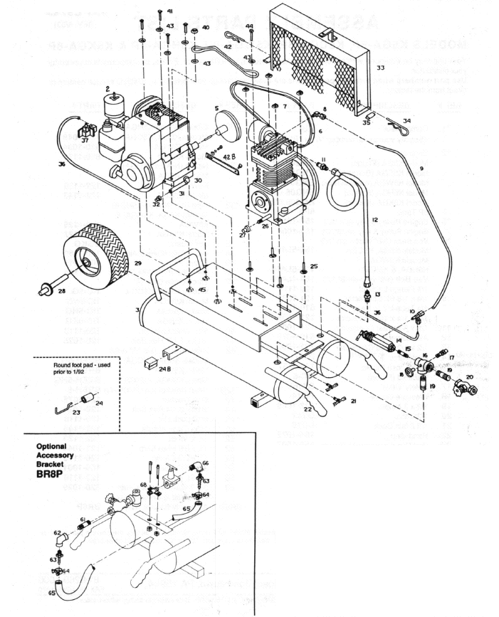 Portable Air Compressor Pressure Switch Wiring Diagram