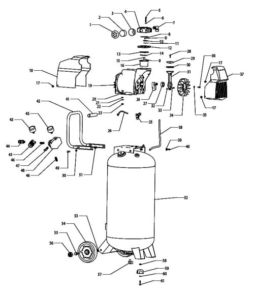small resolution of f226vwlvp 37296 air compressor parts schematic