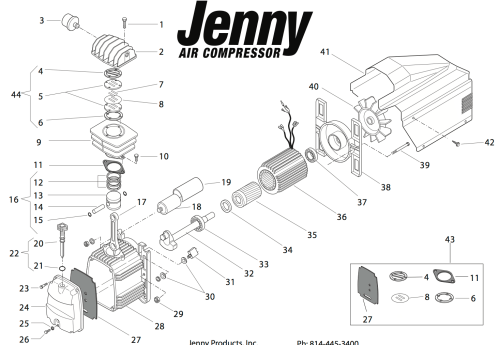 wiring diagram for bostitch air compressor