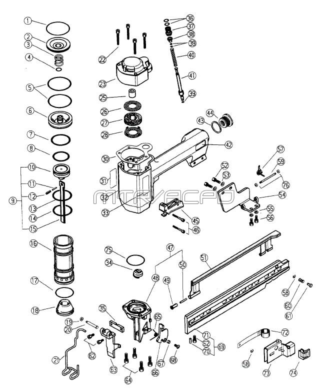 Hitachi Stapler Schematic