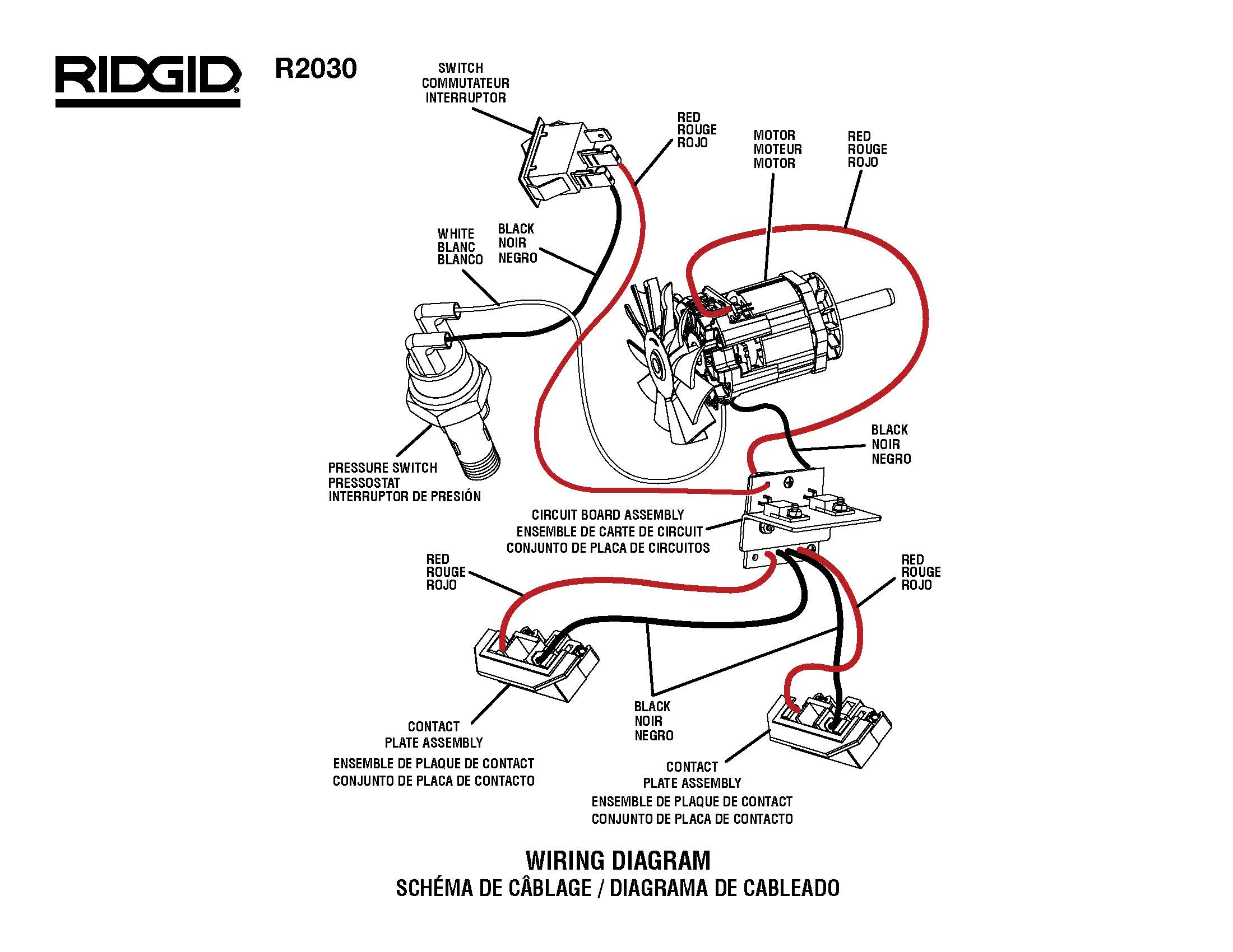 Rigid Portable Generator Wiring Diagram