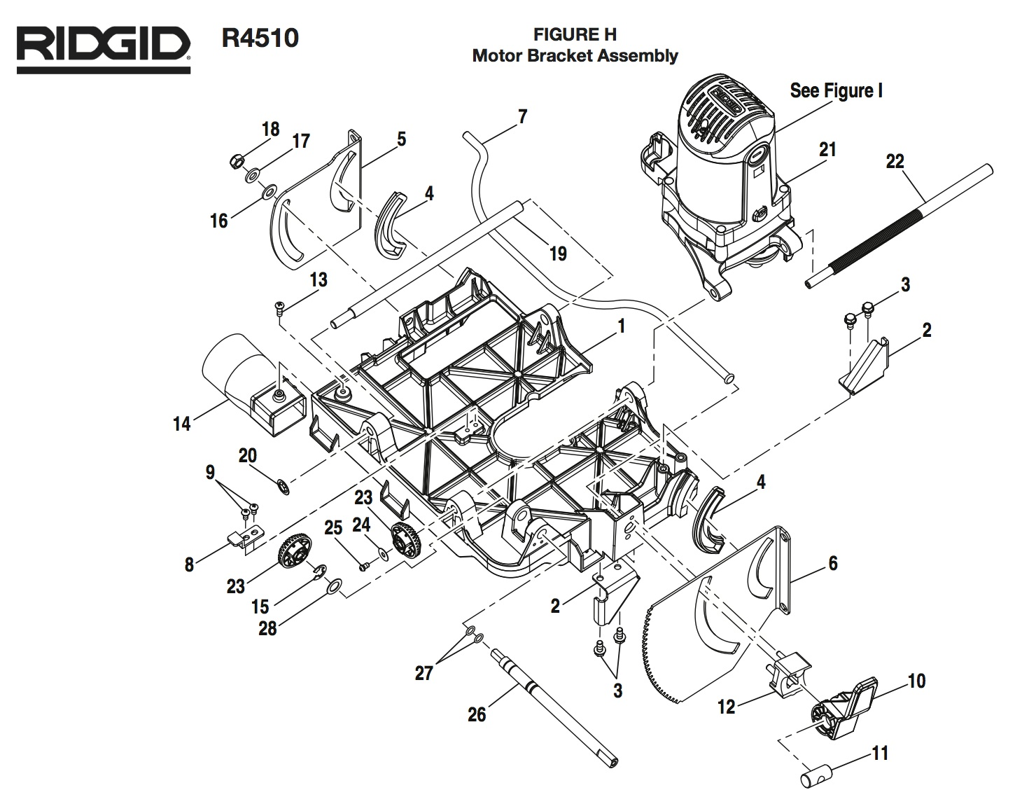 Ridgid Table Saw R Wiring Diagram